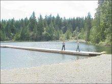 Lizard Lake, Port Renfrew, BC