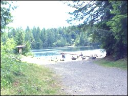 San Juan River Campground Vancouver Island Port Renfrew